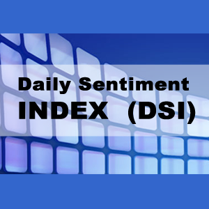 Daily Sentiment Index (DSI) 1/2 Yr  $1295