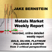 METALS MARKET WEEKLY REPORT<BR> 1/2 Yr Weekly Subscription  $495
