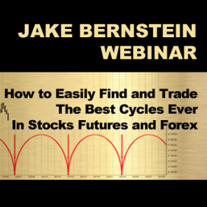 """Jake Bernstein How To Find and Trade the Best Cycles Ever  <br><br> <p style=""""color:red;"""">REG PRICE $129  SALE $39<br>SAVE $90</p>"""