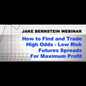 "Jake Bernstein  High Odds Low Risk Futures Spreads Webinar  <br><br> <p style=""color:red;"">REG PRICE $129  SALE $39<br>SAVE $90</p>"